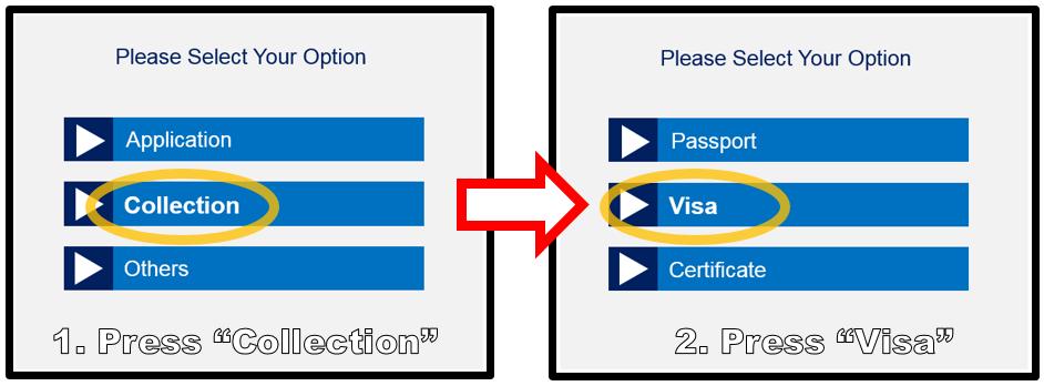 Visa : Consulate.