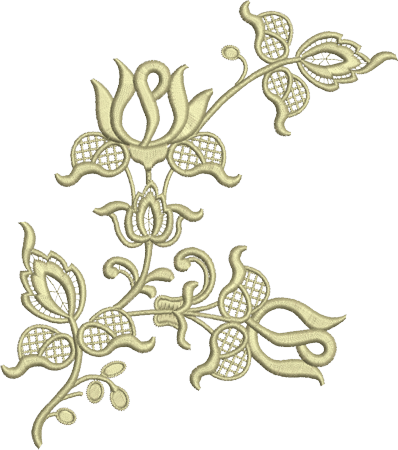 Embroidery PNG Image.