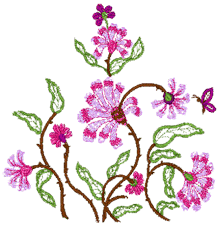 Embroidery Patterns Designs #3129.