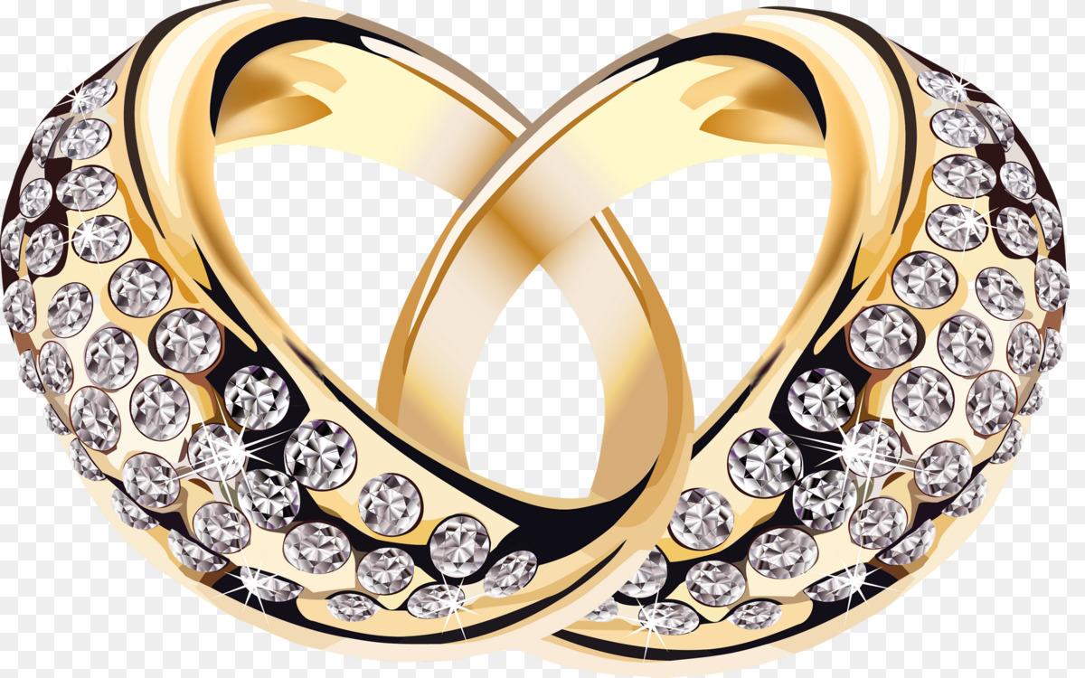 Wedding Ring,Diamond,Gold Transparent PNG.