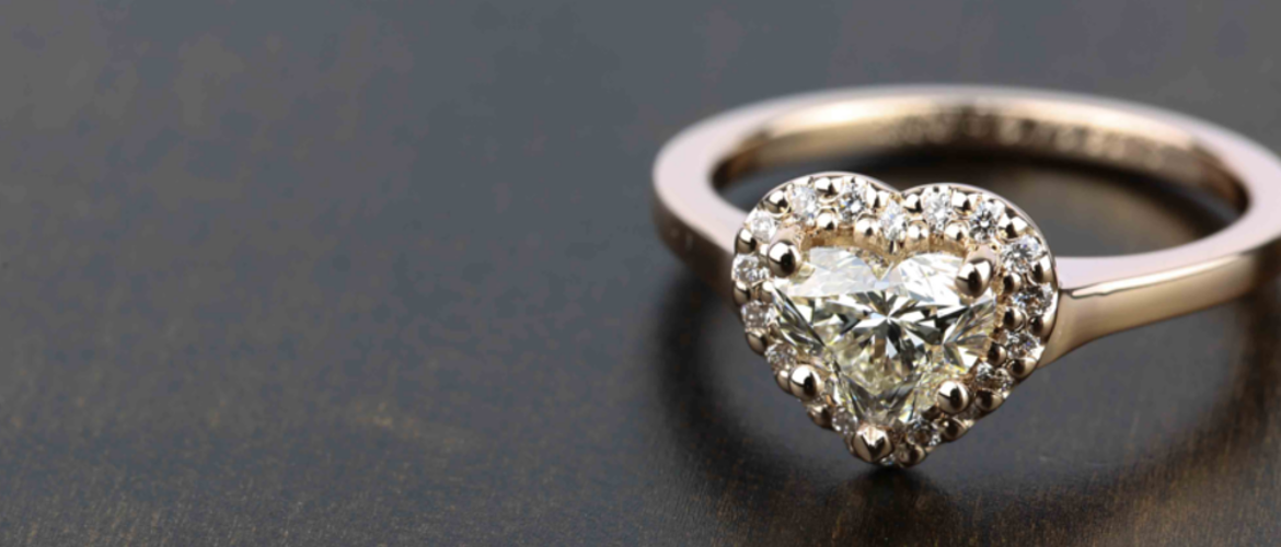 How to Design A Custom Heart Engagement Ring.