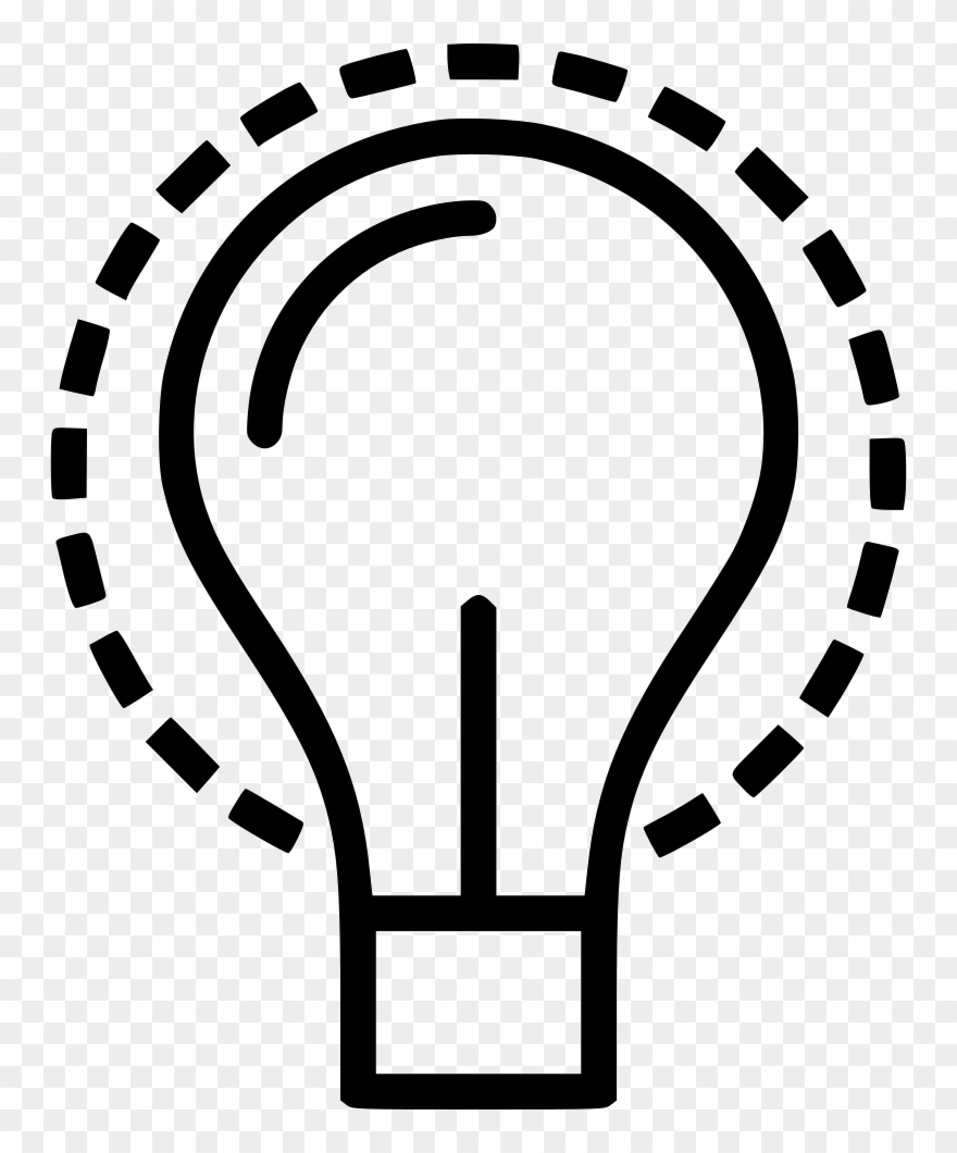 Lightbulb Idea Free Business Icons Svg Psd Png Eps.