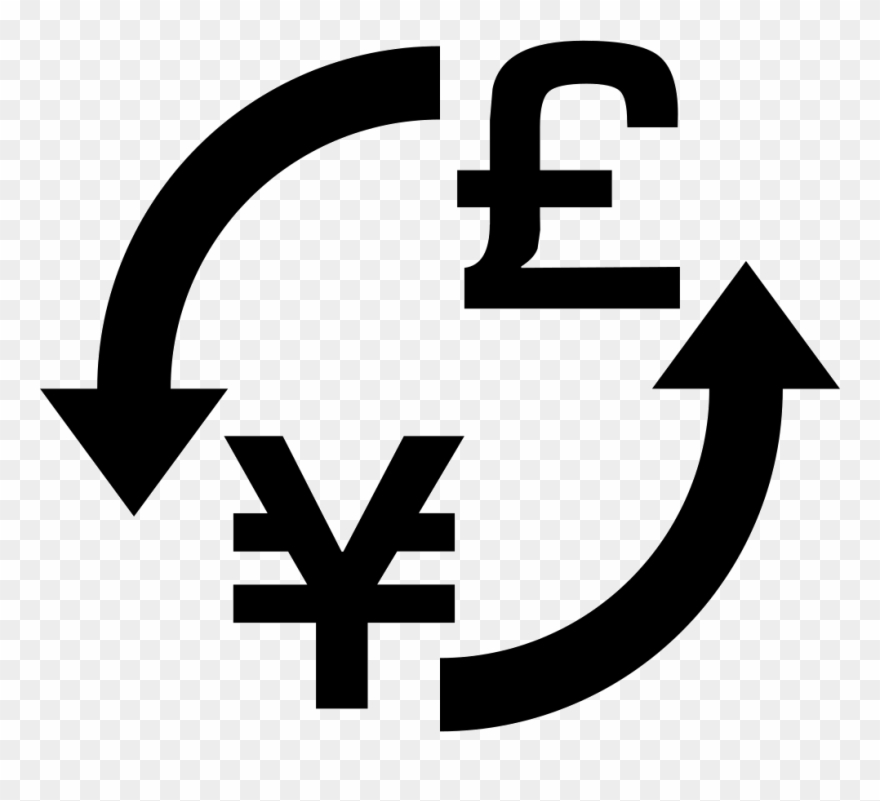Clip Art Freeuse Stock Money Exchange Yens Pounds Png.