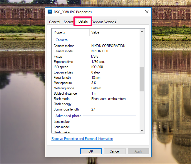 How to See an Image\'s EXIF Data in Windows and macOS.