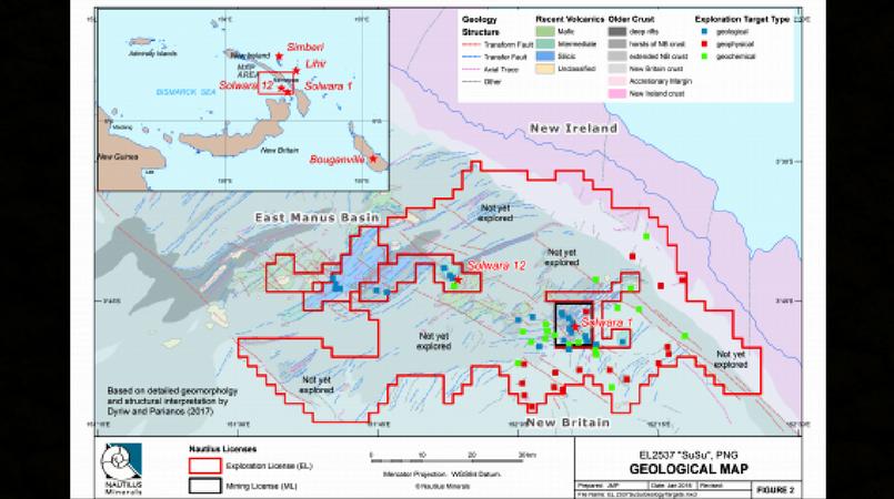Nautilus granted new exploration licence.