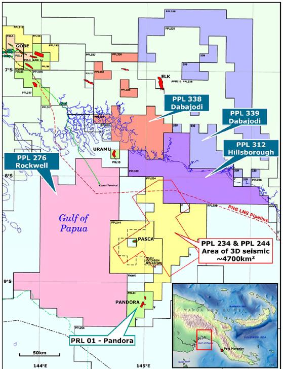 PNG: Oil Search farms into four new exploration licences in.