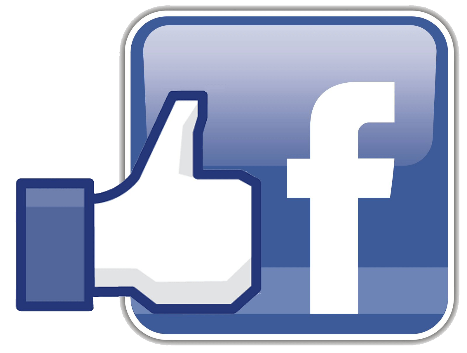 Facebook Icon With Like transparent PNG.