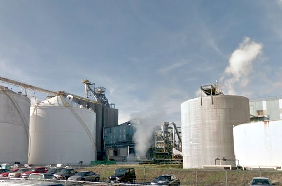 Oil Tank Catches on Fire at Cargill Plant in Ohio.
