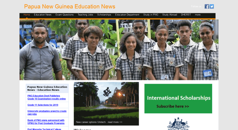 Access edu.pngfacts.com. Papua New Guinea Education News.