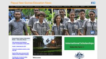 Everything on edu.pngfacts.com. Papua New Guinea Education.