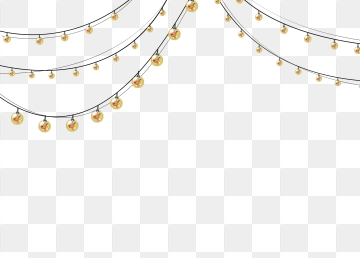 Fairy Lights PNG Images.