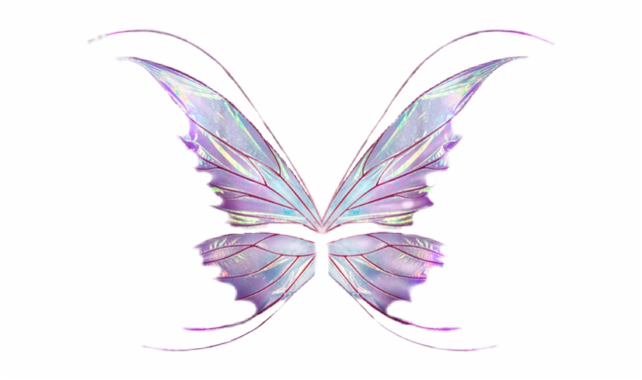Sticker Butterfly Wings Wing Fairy Fairywings Png Wings.