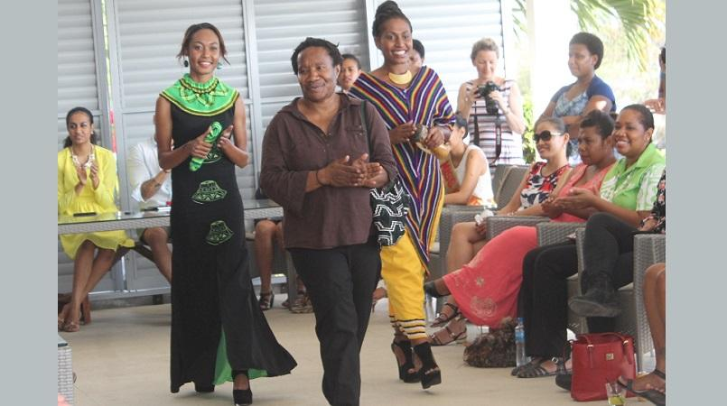 Local designers inspired by PNG culture.
