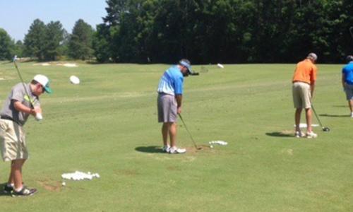 Tar Heels Father/Son Golf Camp.