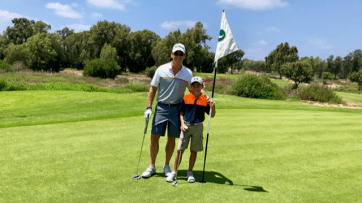 Father/Son Golf.