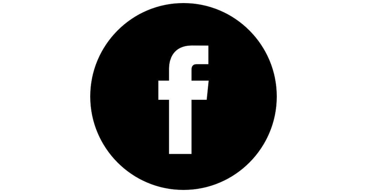 Facebook Logo Button.