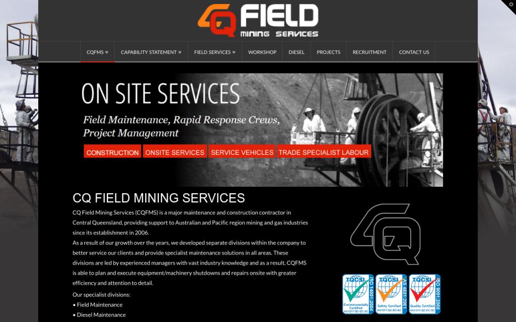 CQ Field Mining Services.