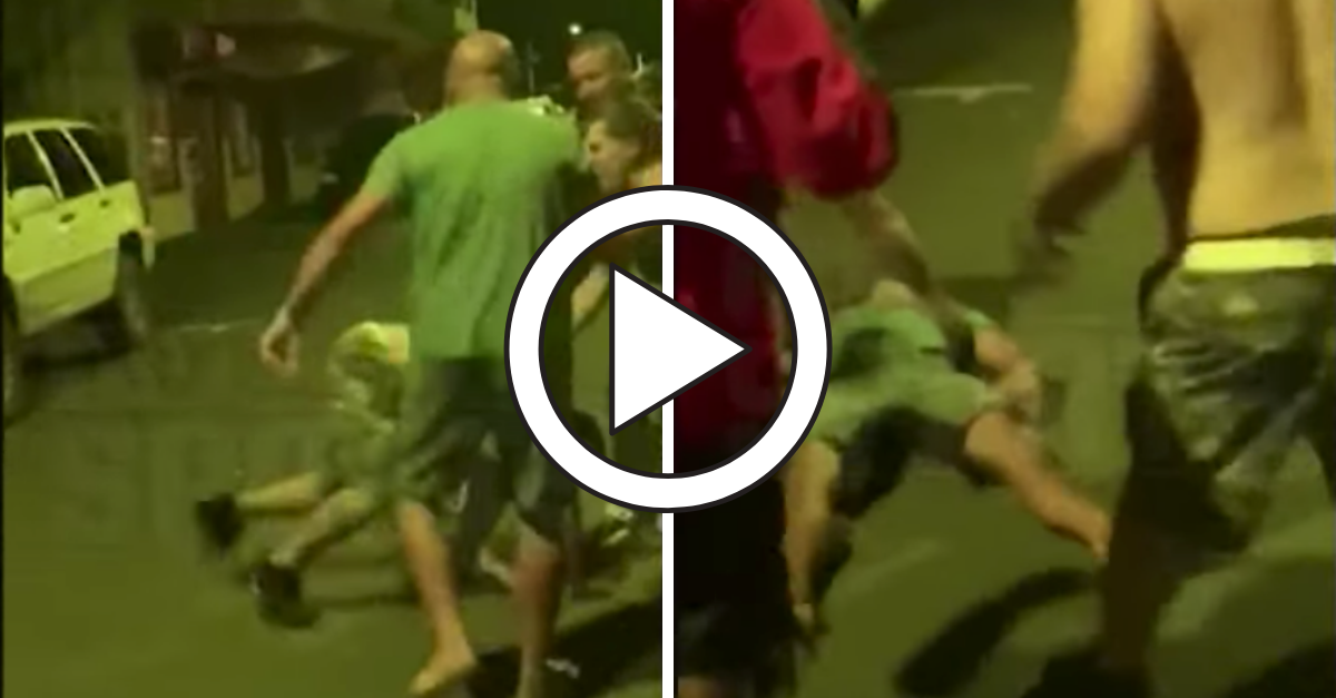 VIDEO: B.J. Penn Gets Knocked Out in Street Fight, But He.