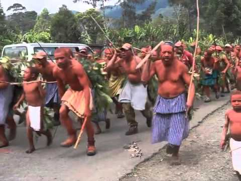 Papua New Guinea Tribal Fighting.