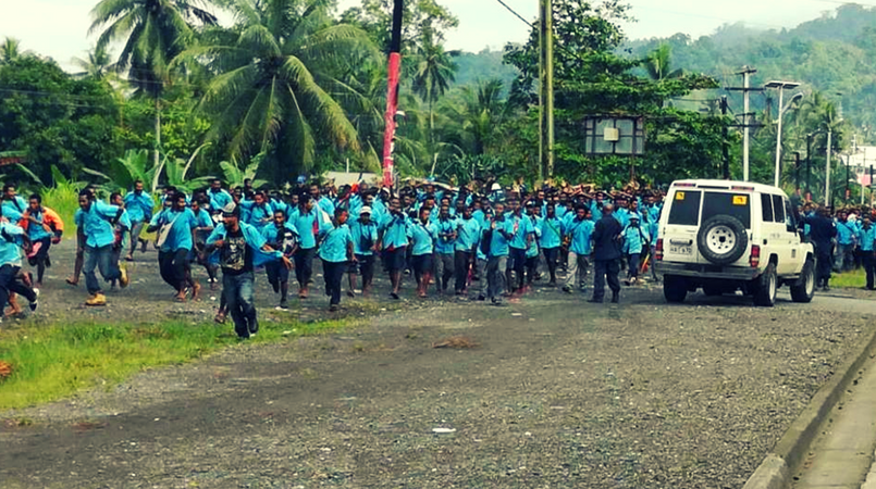 Lae Secondary remains closed.
