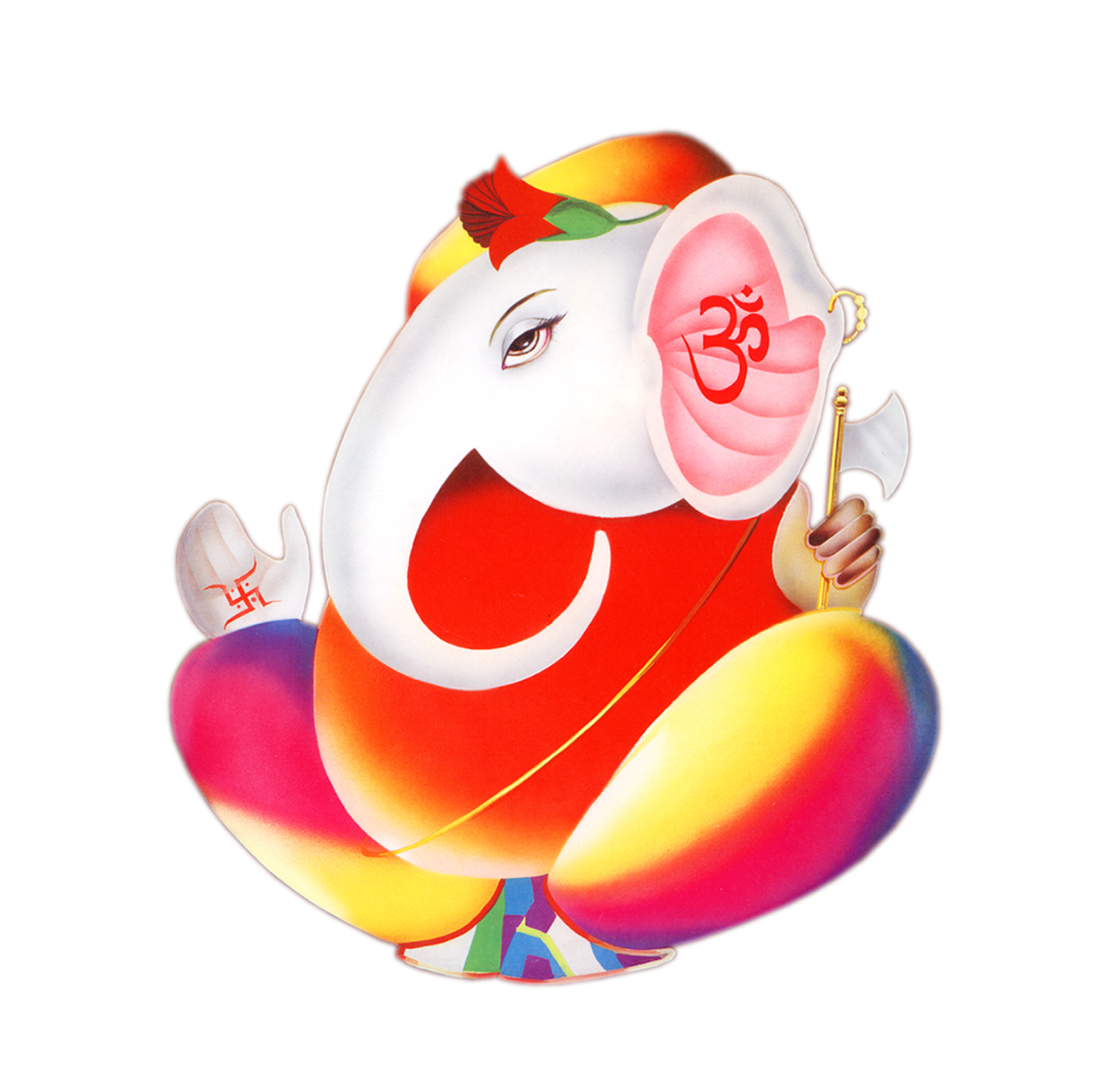 Ganesh Chaturthi PNG Transparent Images.