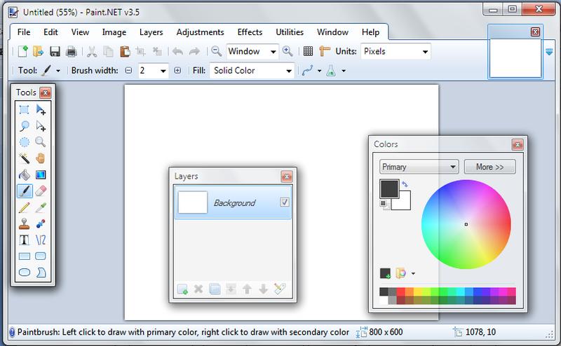 Paint.NET 3.5.11.
