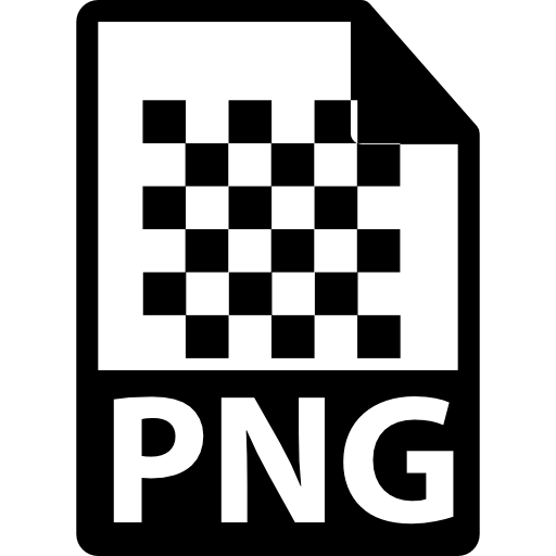 Png file extension interface symbol Icons.