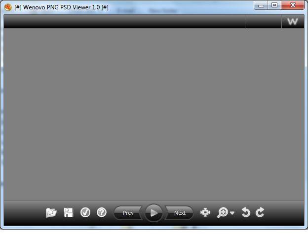 PNG PSD Viewer.