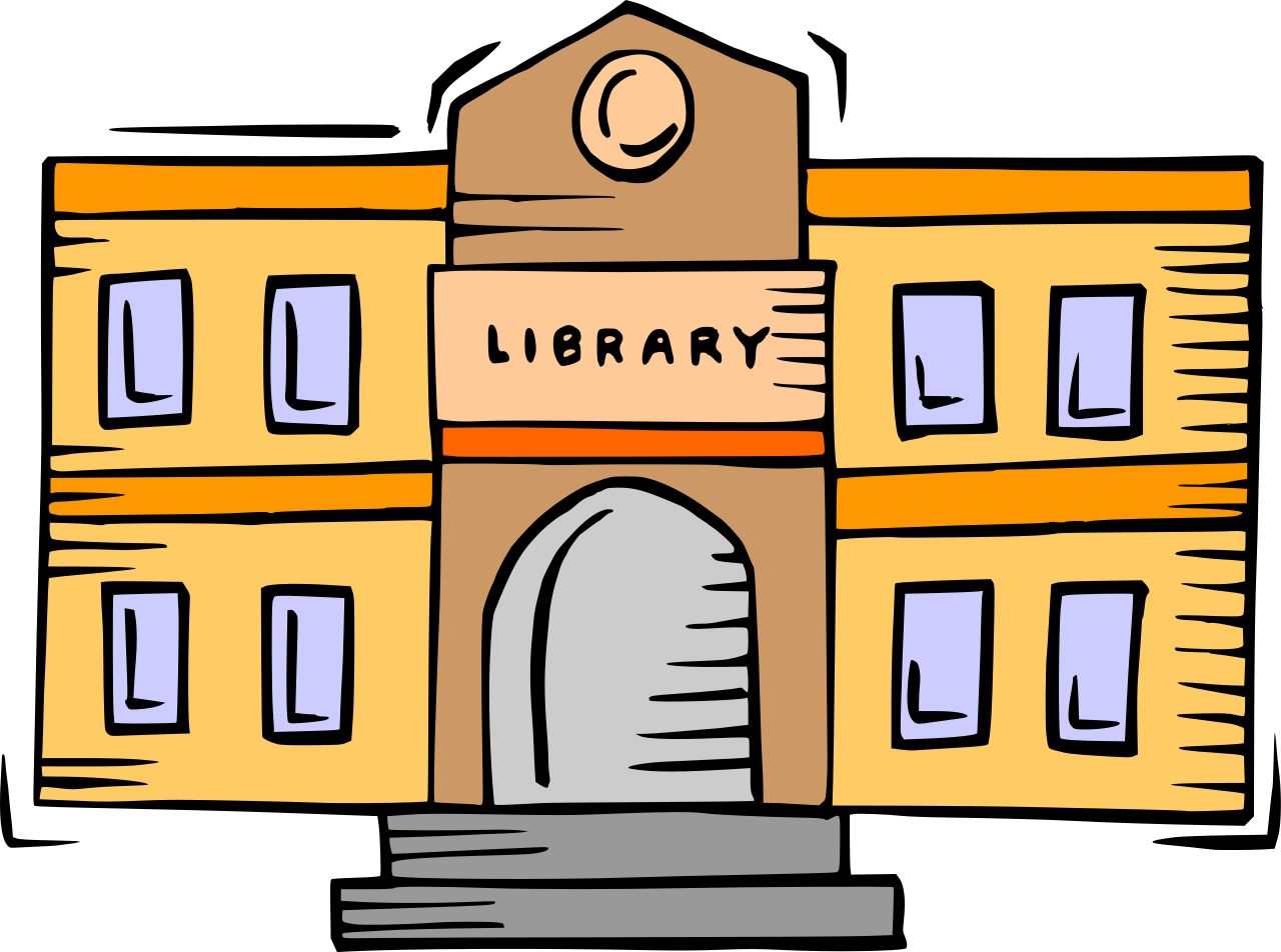 File:Library building clipart.svg.