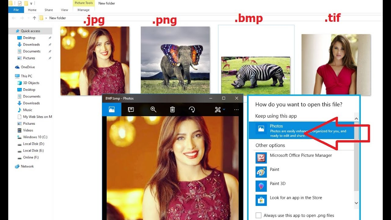 How to Fix All Problem of Image File Not opening in Windows 10  (JPG,JPEG,TIFF,GIF, BMP, PNG).