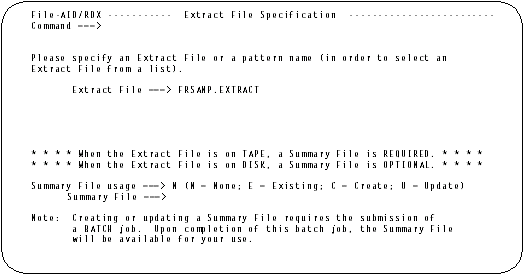 Extract File Specification.