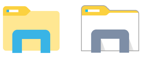 File Explorer Icon Png #155083.
