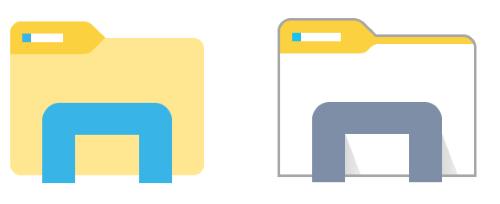 File Explorer Icon Png #155083.