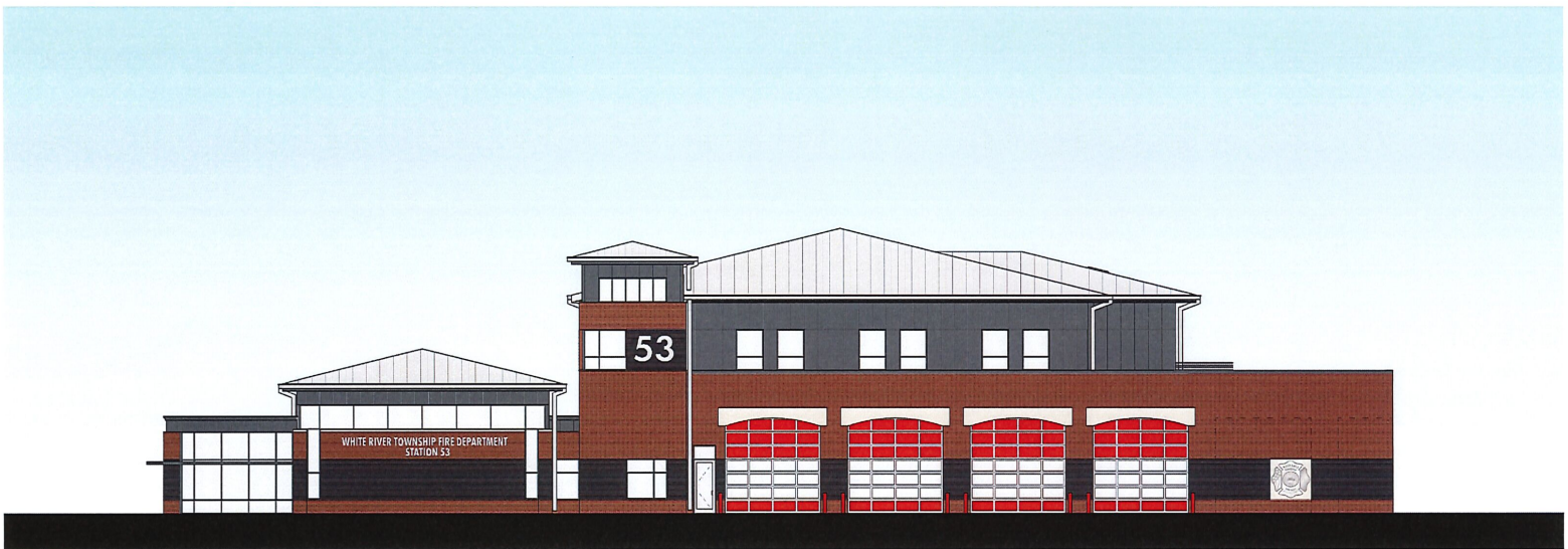 White River Township Fire Department Breaks Ground on New.