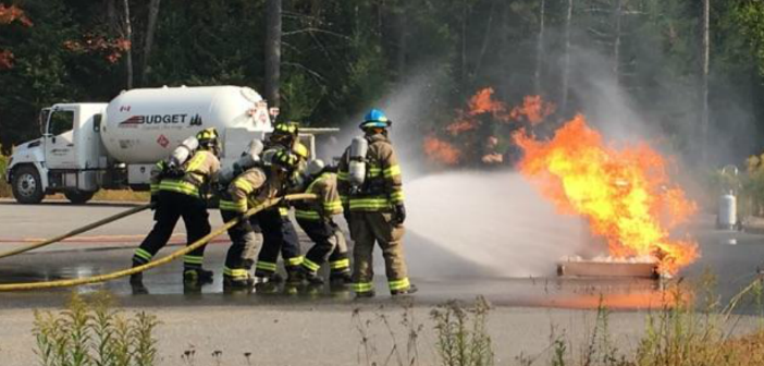 Want to be a firefighter? Huntsville Lake of Bays Fire.