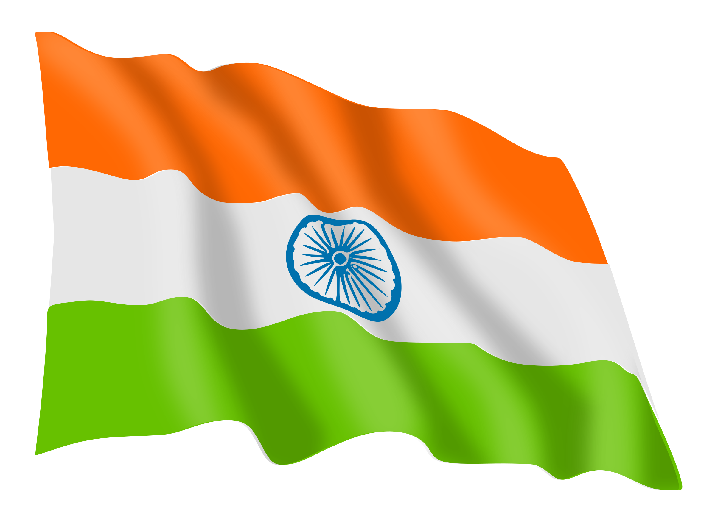 India Flag PNG Transparent Images.
