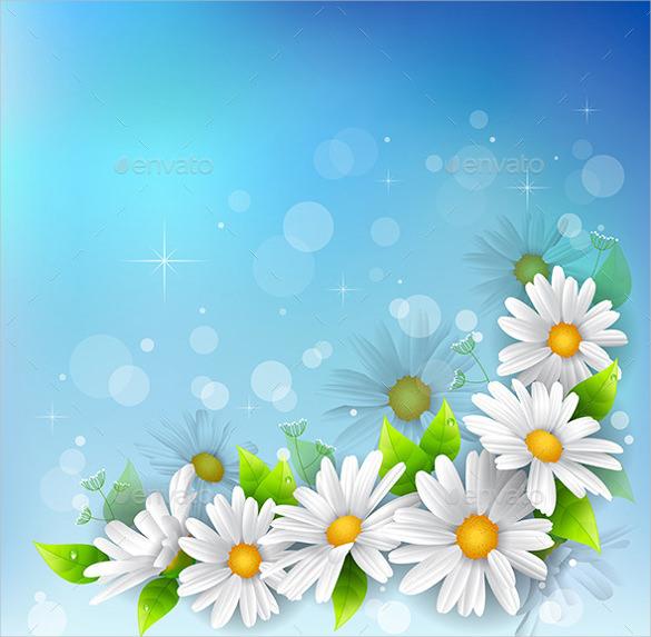 Flower Backgrounds.
