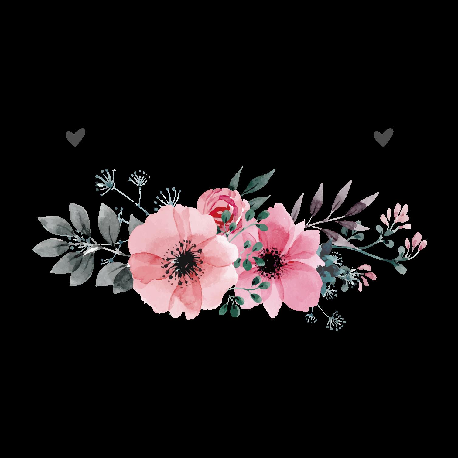 Wedding invitation Flower.