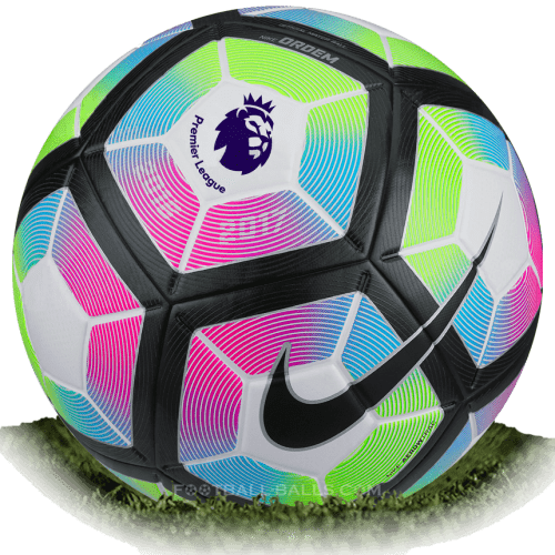Nike Ordem 4 is official match ball of Premier League 2016/2017.