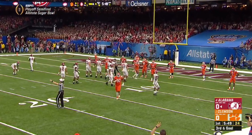 College Football Playoff games overlap, causing fans to miss.