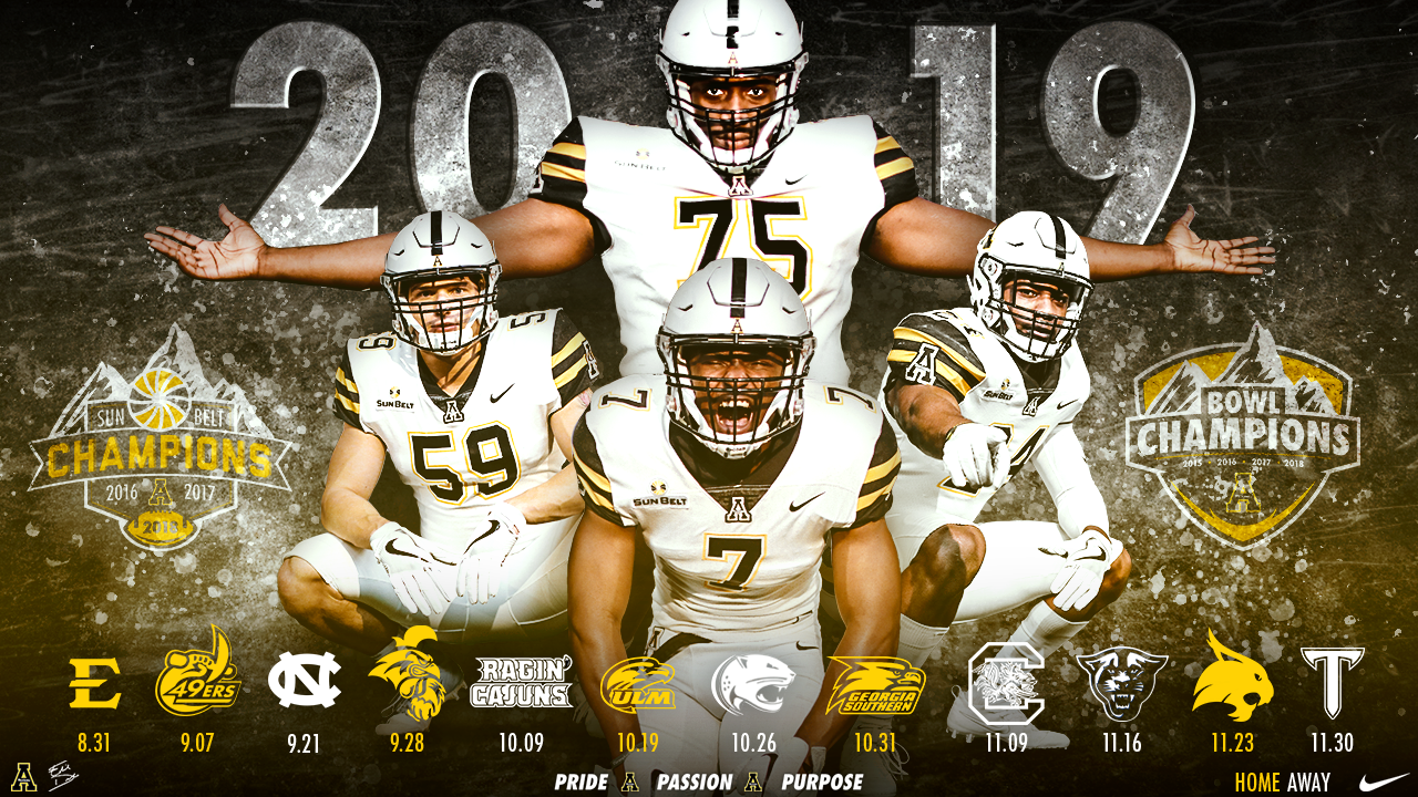 2019 App State Football Schedule Revealed.
