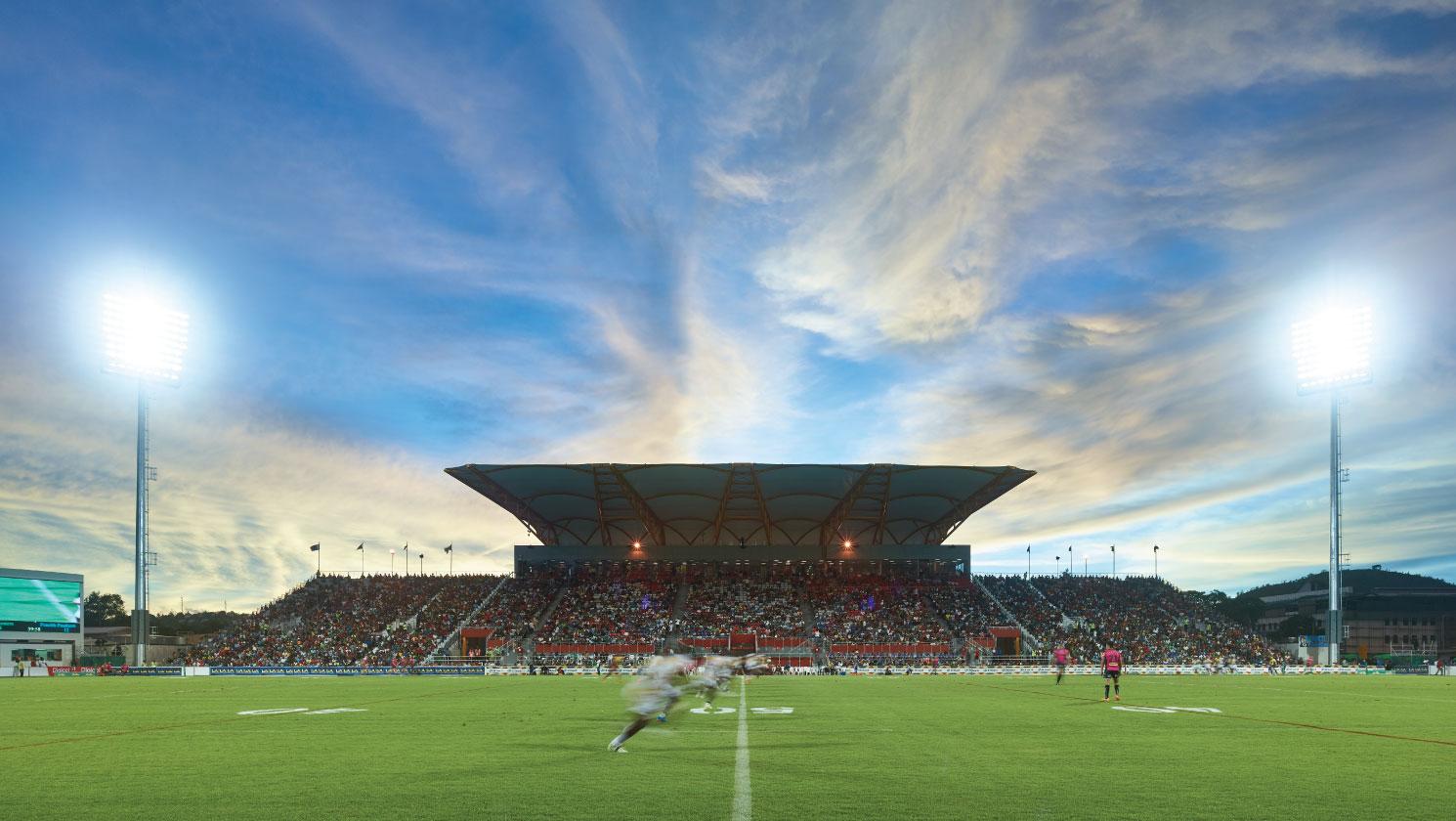 PNG National Football Stadium.