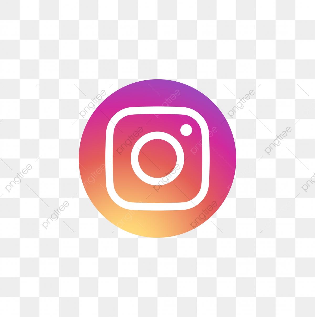 Instagram Social Media Icon Design Template Vector, Ig Icon.