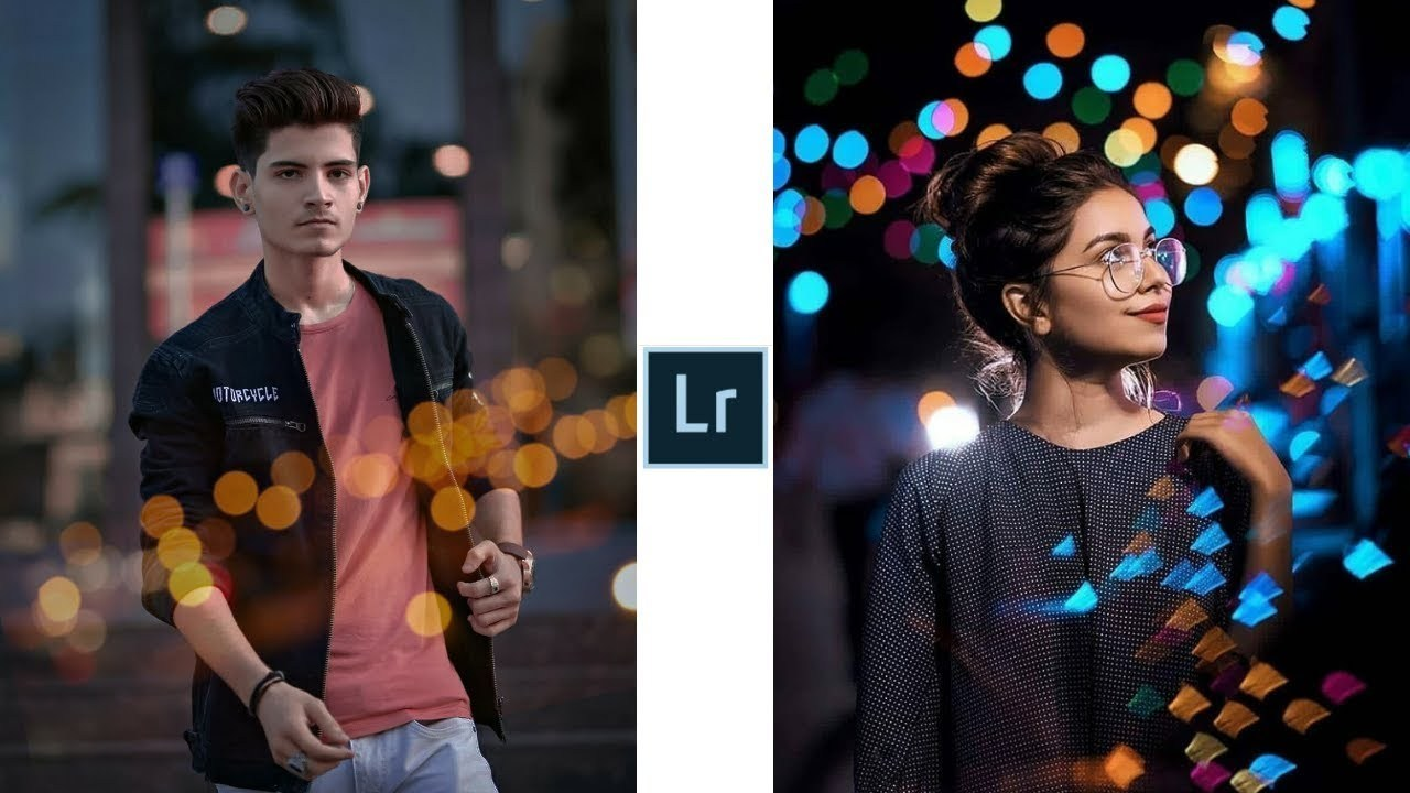 Lightroom Amazing Bokeh Effect Editing Background Png.
