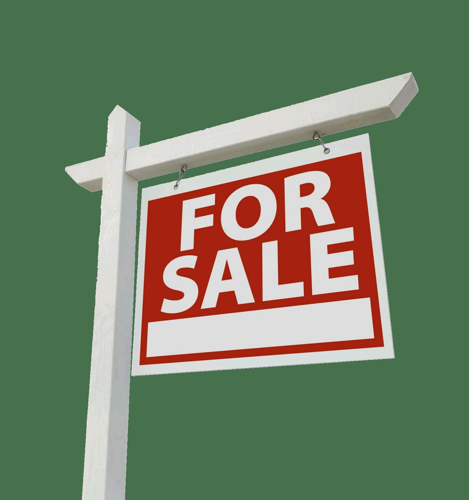 For Sale Hanging Sign transparent PNG.