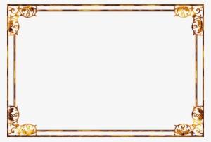 Gold Frames Hd PNG & Download Transparent Gold Frames Hd PNG.