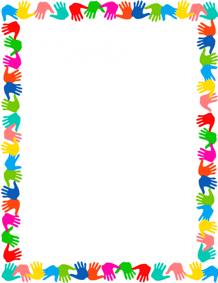 Frames And Borders For Kids Png Vector, Clipart, PSD.