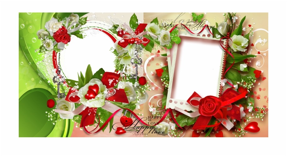 Love Frame Photoshop Png.