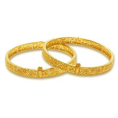 Buy P.N.Gadgil Jewellers 22k Yellow Gold Bangle Online at.