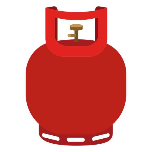 Small gas cylinder icon.